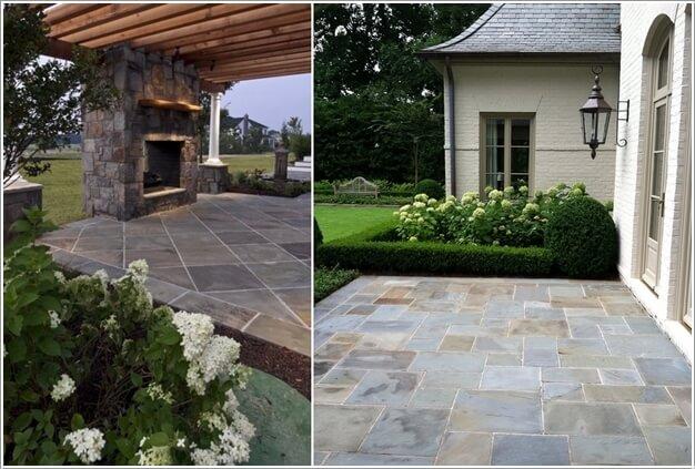 Do The Floor With Concrete Tiles