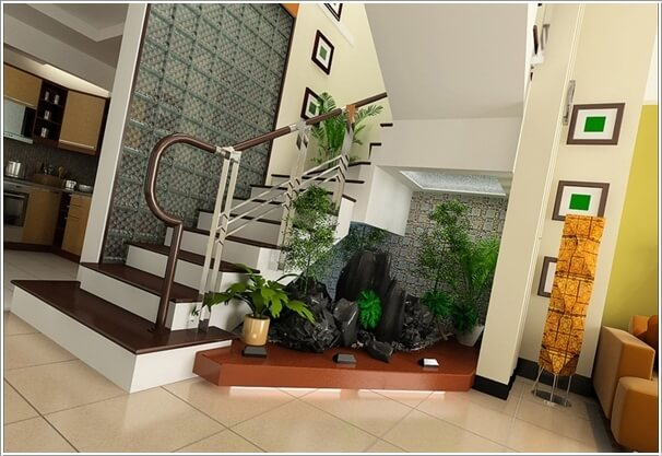 Decorate And Claim The Space Under The Stairs