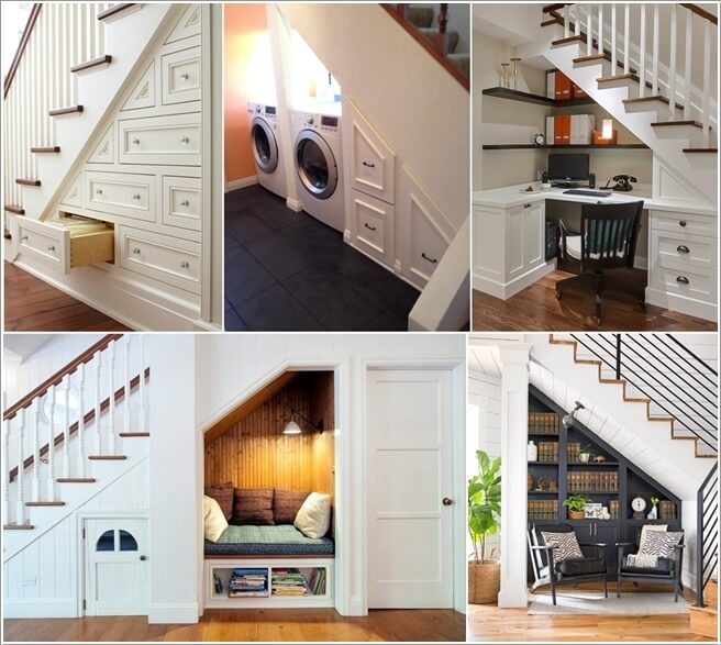 How To Use Space Under The Staircases: Decorate And Claim The Space Under The Stairs