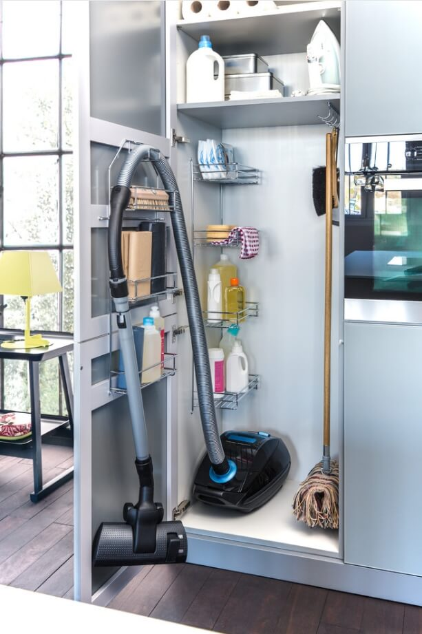 Vacuum Cleaner Storage Ideas
