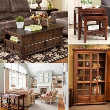 Amish Living Room Furniture Ideas fi
