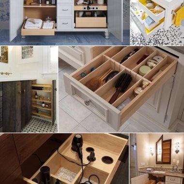 Bathroom Vanity Storage Ideas fi