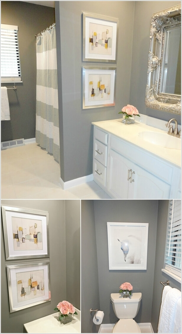 bathroom wall decor ideas 10 creative diy bathroom wall decor ideas 4557