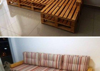DIY Sectional Sofa fi