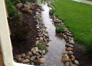 Downspout Landscaping fi