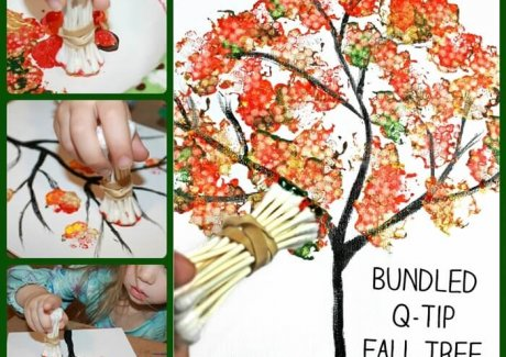 Fall Tree Painting Idea fi