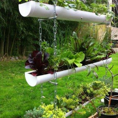 Gutter Garden Ideas fi