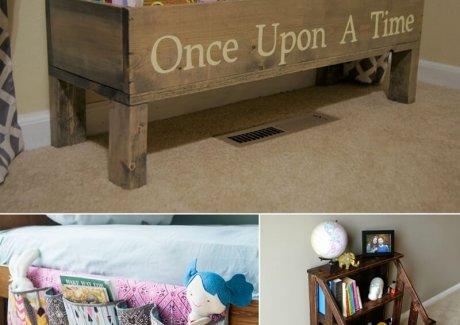 Kids Books Storage Ideas fi