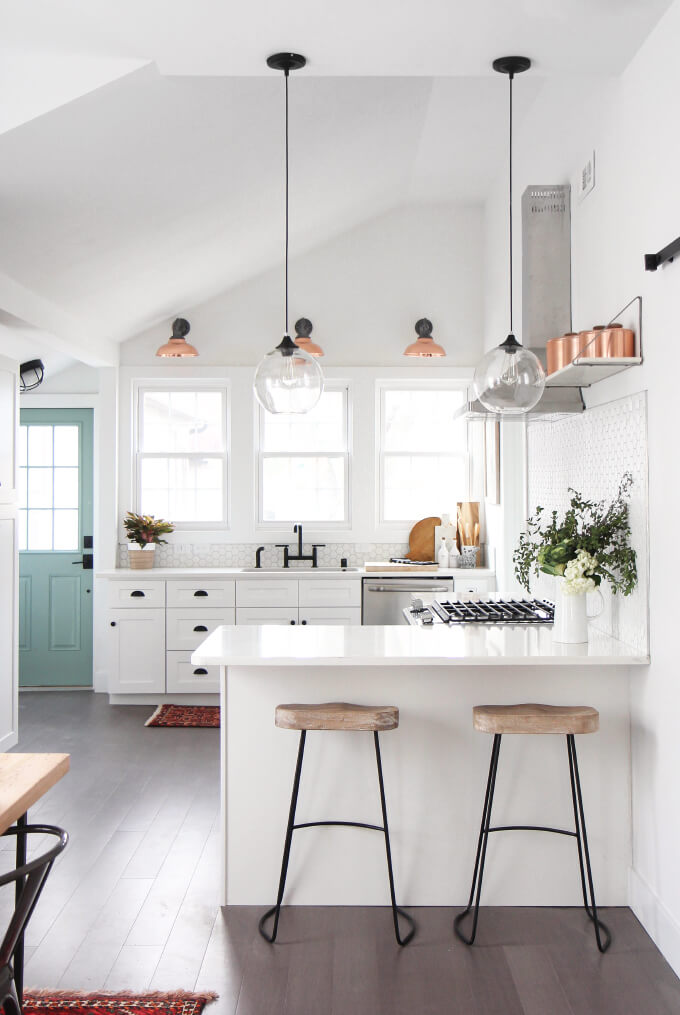 Pictures Of Small Kitchen Design Ideas From Hgtv: Decorate Your Kitchen With Copper Accents