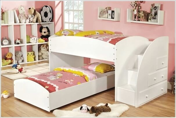 10 Wonderful L Shaped Bunk Bed Designs