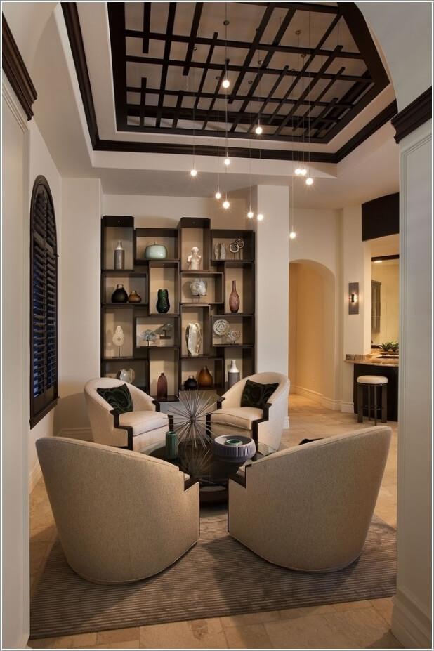 Image via  beauty home. Captivating Living Room Furniture Ideas