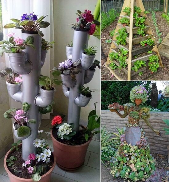 10 space saving tower garden ideas - Tower Garden