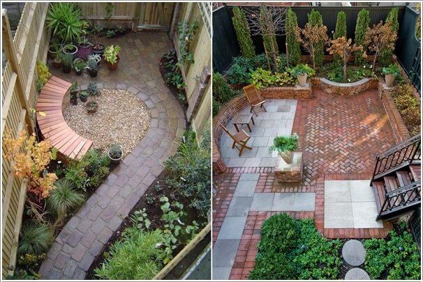 Do Your Backyard Floor with Bricks - 15 Cool Backyard Flooring Ideas