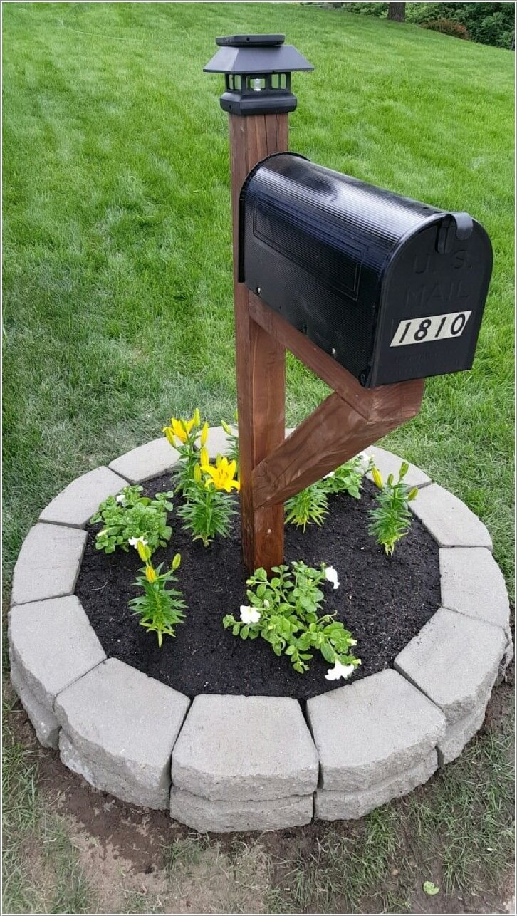 15 creative ways to display solar lights for Mailbox ideas