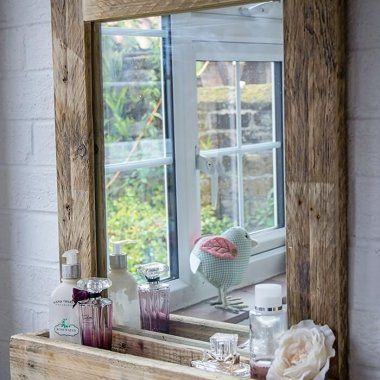 DIY Bathroom Mirror fi