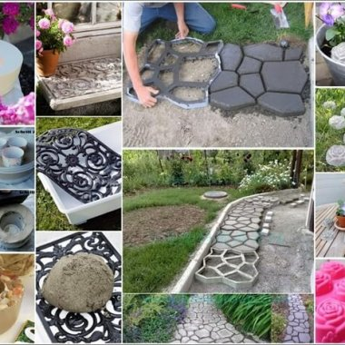 DIY Concrete Projects for Your Garden 1