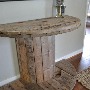 DIY Entryway Table Ideas fi