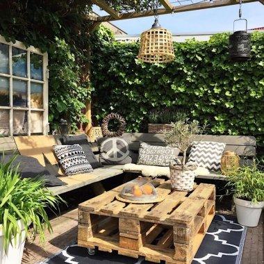 DIY Outdoor Coffee Table Ideas fi