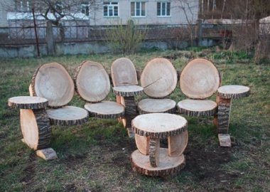 Decorating with Log Furniture fi