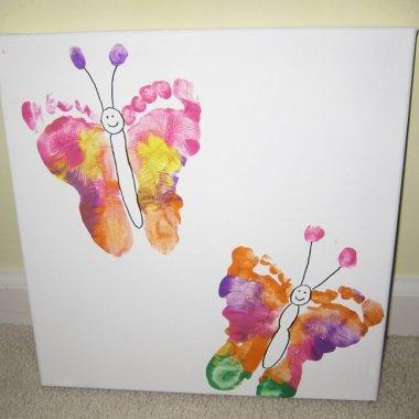 Hand and Footprint Art Ideas fi