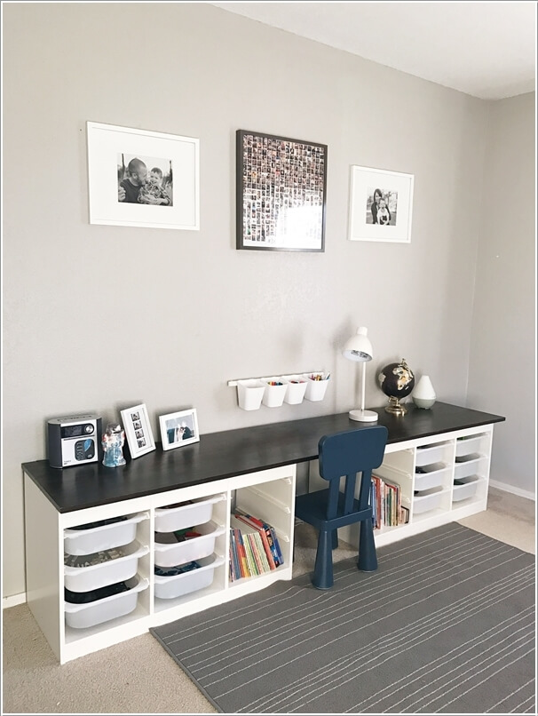 Small Bookshelf Nursery