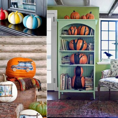No Carve Pumpkin Ideas fi