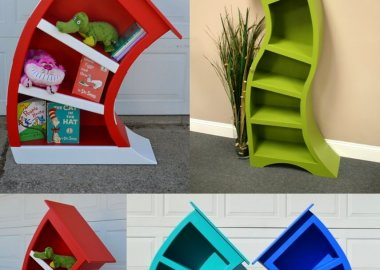 Quirky and Cool Bookcase Designs fi