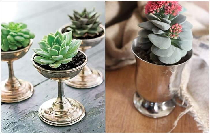 1. Want Some Metallic Inspiration? Then Re Imagine Julep Cups