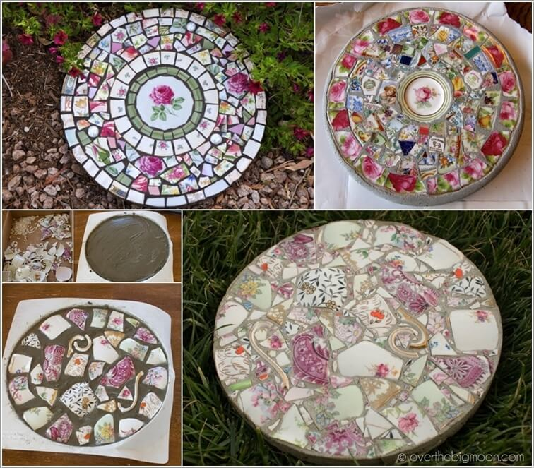 Making A Wonderful Garden Path Ideas Using Stones: 10 Wonderful DIY Stepping Stone Ideas For Your Garden