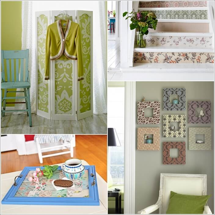 10 Creative Things To Do With Wallpaper Leftovers