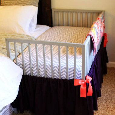 10 Wonderful DIY Co-Sleeper Crib Ideas fi