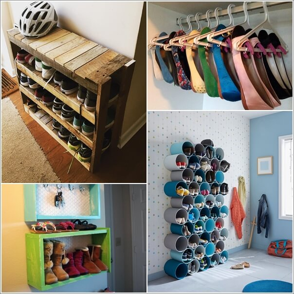 & 15 Budget-Friendly Shoe Storage Ideas