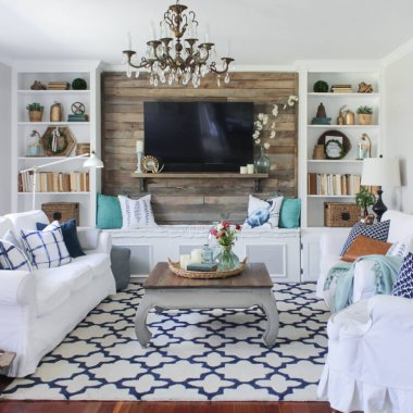 15 Rustic Decor Features To Add To Your Living Room Part 75
