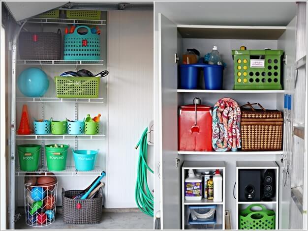 Image via  i heart organizing. 4 Tips to Organizing Your Garage Before The Holiday Season