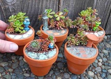 Adorable Miniature Fairy Garden Ideas fi