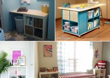 Clever Ways to Decorate with Storage Cubes fi