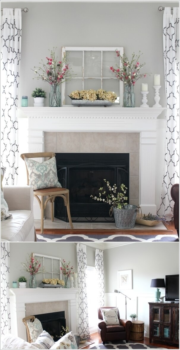 Decorate Your Fireplace Mantel With Style