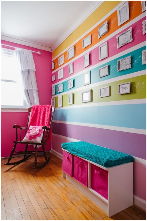 Fun And Cheerful Multicolor Kids Room Decor Ideas