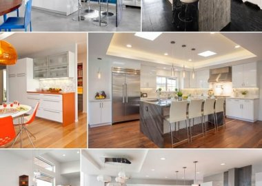 Waterfall Countertop Ideas for Your Kitchen fi