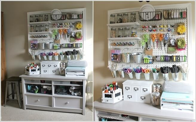10 Clever Sewing Room Organization Ideas