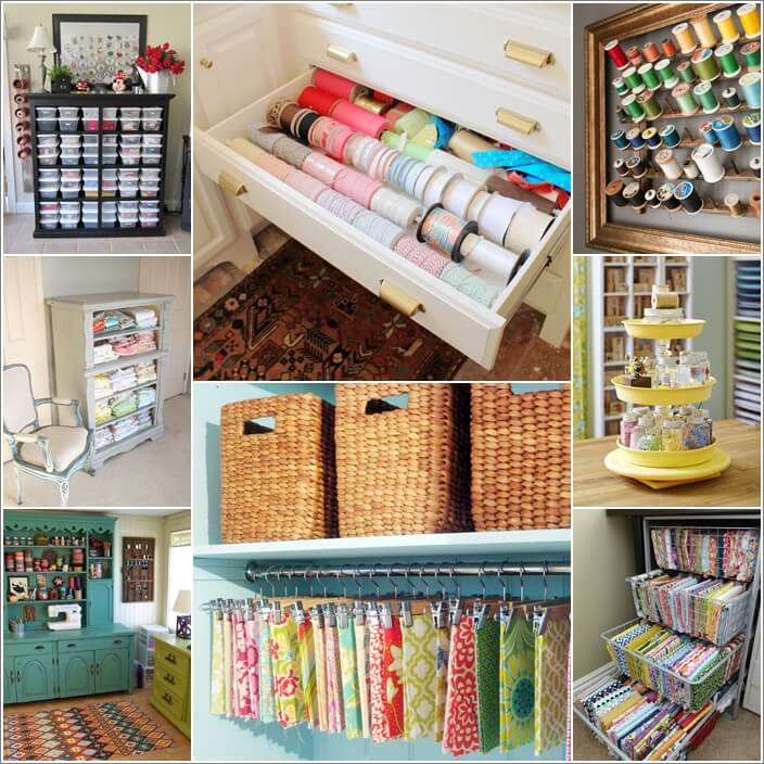 ways your craft organization pin to organize creative unexpected sewing craftroom room diy