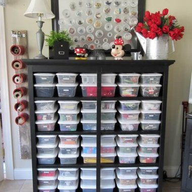 10 Clever Sewing Room Organization Ideas fi