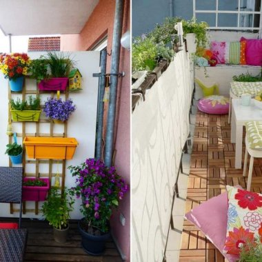 10 Fun Ways to Decorate a Tiny Balcony fi