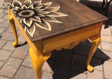 10 Interesting Ways to Give a Makeover to Old Tables fi