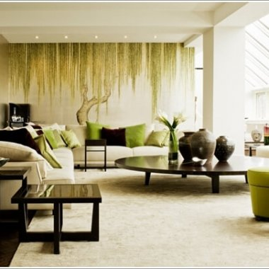 10 Nature Inspired Living Room Decor Ideas 10