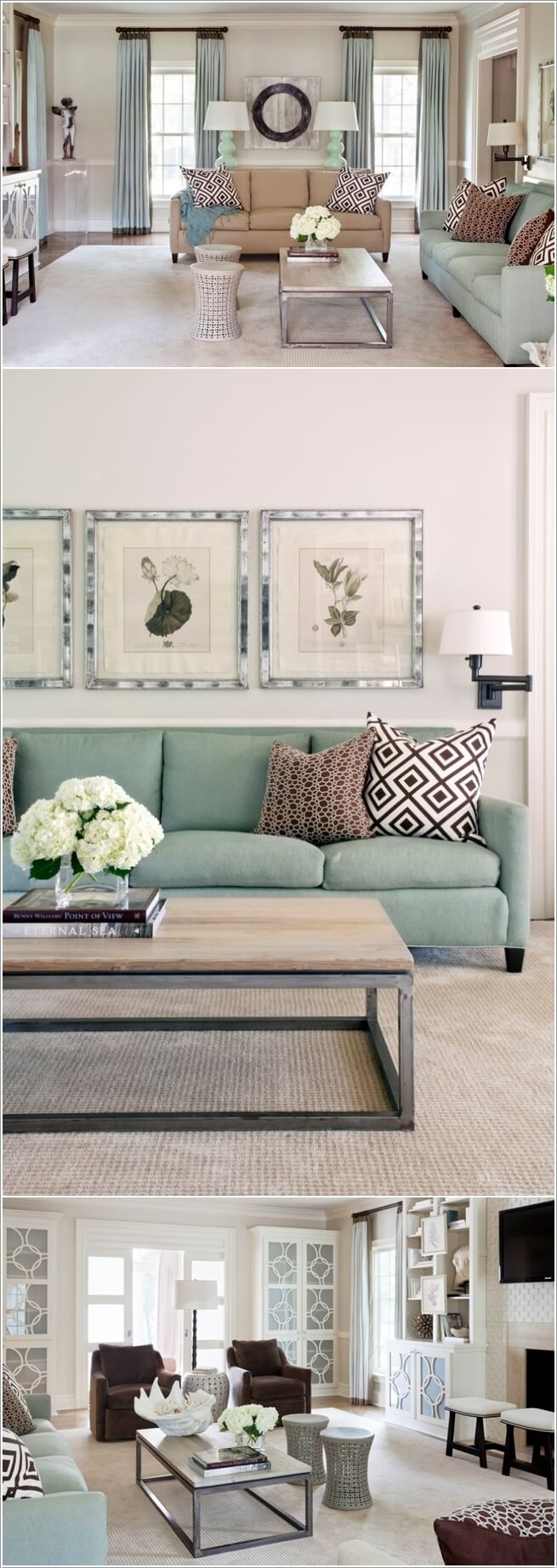 Decor Living Room Ideas: 10 Nature Inspired Living Room Decor Ideas