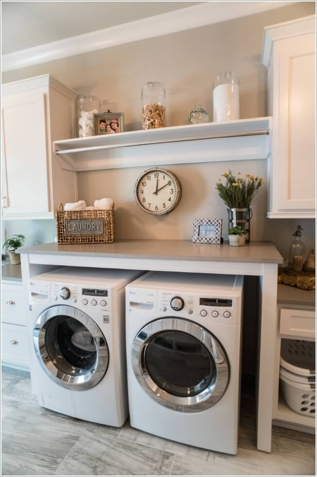 10 space saving tips for a small laundry room - Seven tips to save space in a small bathroom ...
