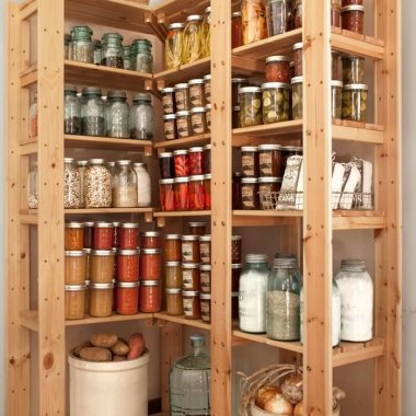 14 Pantry Designs That Will Give You Organization Envy fi