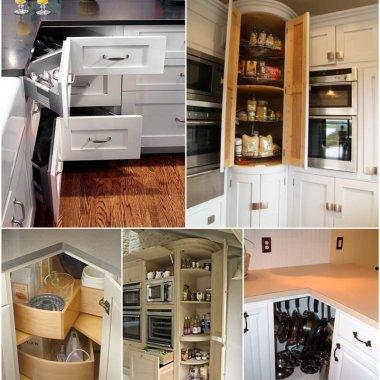 home design diy. Clever Corner Kitchen Storage Ideas Interior Design  Diy Home Decor