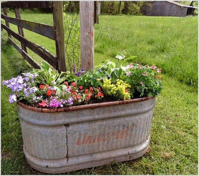 Clever Ways To Re Purpose A Water Trough
